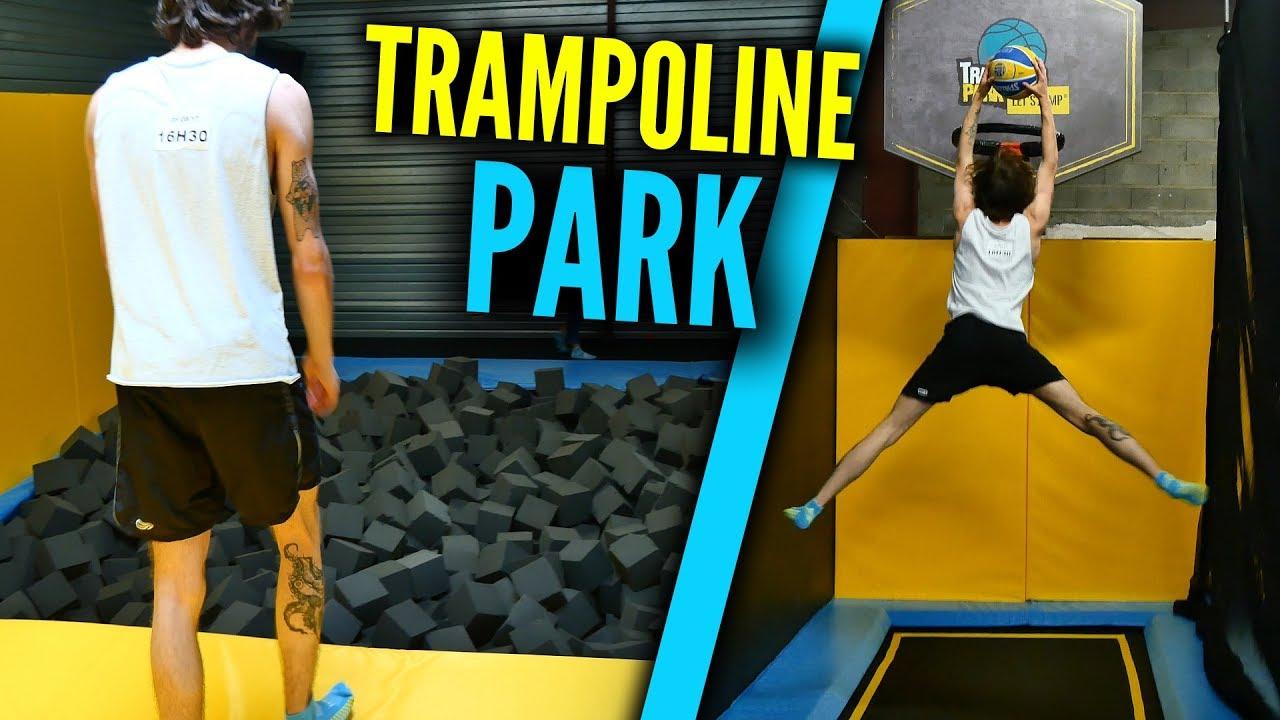je plonge dans la mousse trampoline park youtube. Black Bedroom Furniture Sets. Home Design Ideas