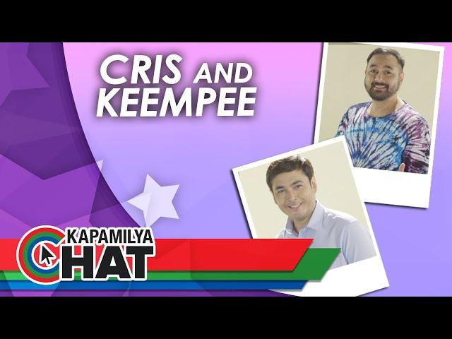 Cris Villanueva and Keempee de Leon for Bagong Umaga   Kapamilya Chat