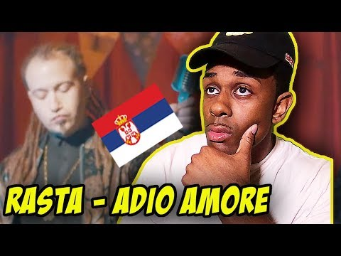 SERBIAN MUSIC REACTION   Rasta - Adio Amore (Official Video)