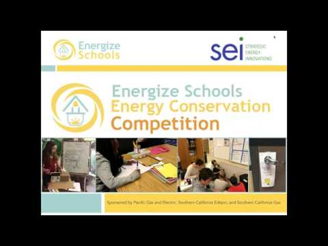 Fall 2017 Energy Conservation Competition Informational Webinar