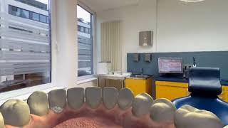 Realidade Virtual - Educação Aula Odontologia