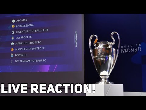 Manchester United draw Barcelona....Bring it on!! UEFA Champions League Draw Live Reaction!
