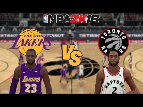 Lakers Vs Raptors