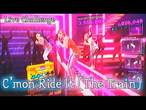 """Dance Central 3 - """"C'mon Ride It (The Train)"""" 