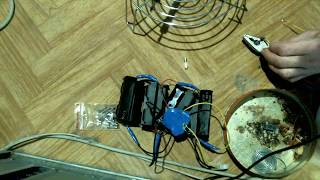 Переделка аккумулятора электровелика с кислотного на Li-Ion. Часть 3. Пытаюсь впаять предохранители