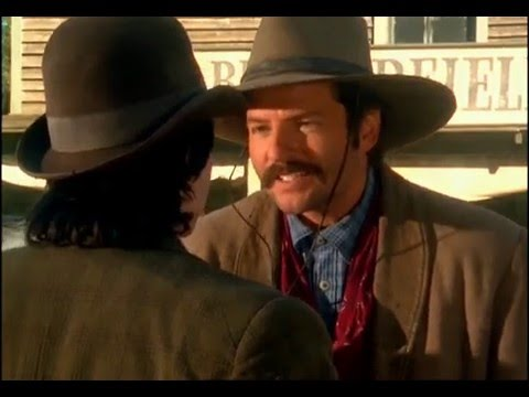 Tamara Braun with Dale Midkiff in The Magnificent Seven