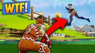 I PAS THE FORTNITE CART! (Fortnite WTF Glitch)