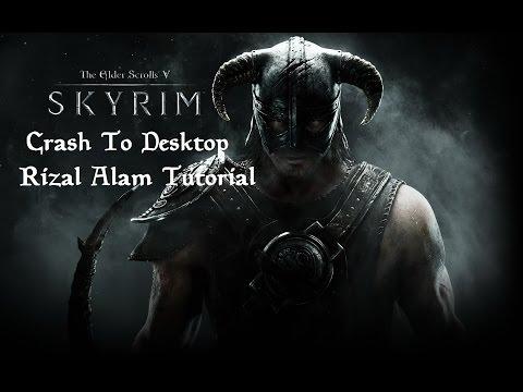 How To Fix Skyrim V CTD(Crash To Desktop) - IND