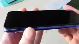 Реально изогнутое Curved защитное стекло на примере Xiaomi Redmi Note 7