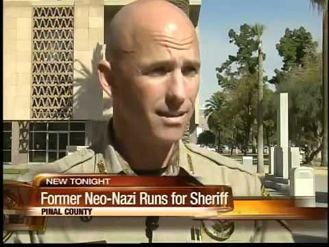 Former Neo-nazi running for Pinal County Sheriff