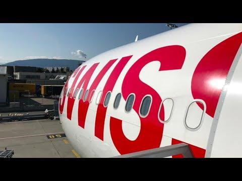 Genève - Montréal via Zurich en First Class avec Swiss en A330