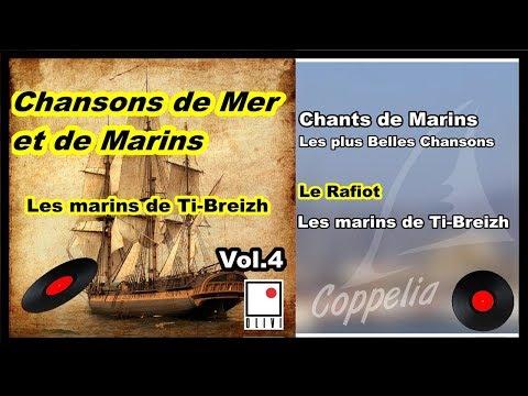 CHANSONS DE BRETAGNE, DE MER ET DE MARINS VOL.4 - COPPELIA OLIVI