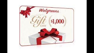 Walgreens Deals - What Would You Do With A $1,000 For Walgreens?