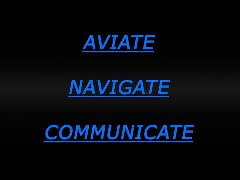 Emergency Response - Aviate, Navigate, Communicate