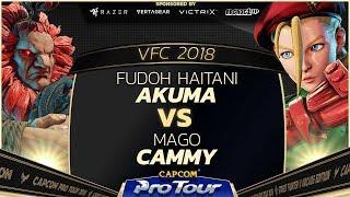 Download Video Fudoh Haitani (Akuma) vs Mago (Cammy) - Versus Fighting Cup 2018 Grand Finals - CPT 2018 MP3 3GP MP4