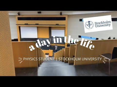 A day in the life of a Physics Student (Stockholm University) | idyllic insu