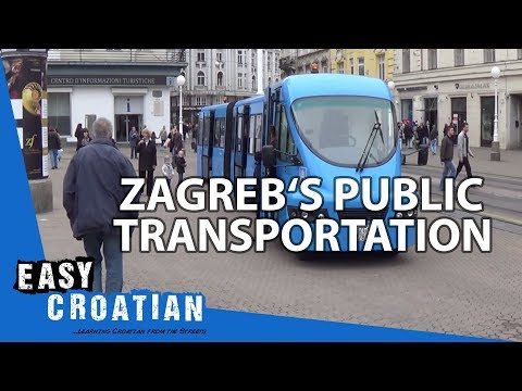 Easy Croatian 18 - Zagreb's public transport