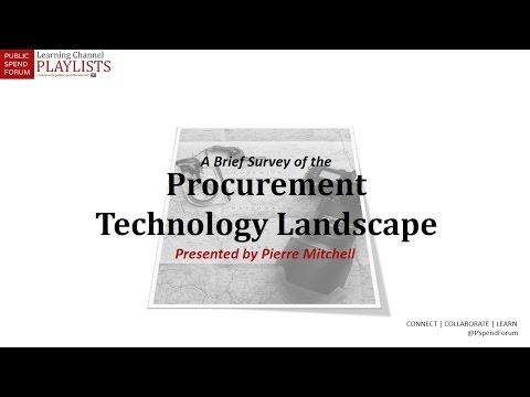 A Five Minute Survey of Procurement Technology Trends