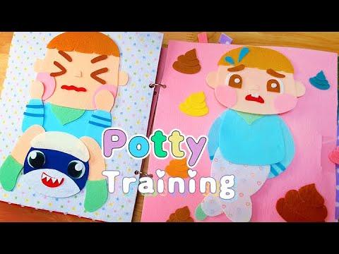 Download Potty Training Felt Book How to Potty Train #pottytraining #feltbook