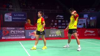 Repeat youtube video [HD] QF - XD - T.Ahmad / L.Natsir (INA) vs Xu C. / Ma J. (CHN) - 2013 Sudirman Cup