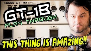 GT-1B SOUND PLAY THROUGH: Awesome Compact & Powerful!