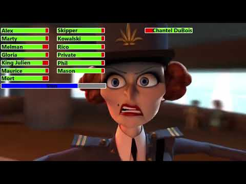 Download Madagascar 3: Europe's Most Wanted (2012) Monte Carlo Chase with healthbars