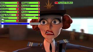 Madagascar 3: Europe's Most Wanted (2012) Monte Carlo Chase with healthbars