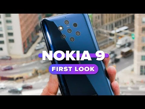 Nokia 9 PureView first look: The five-camera phone
