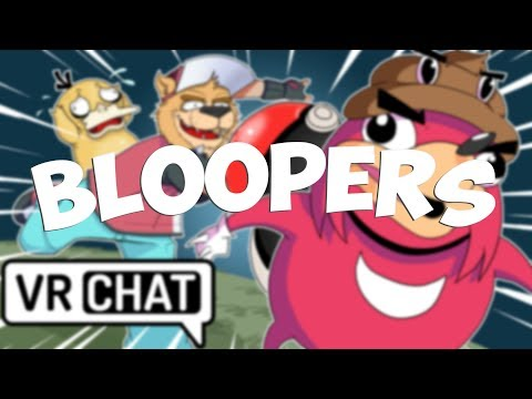 POKEMON IN VRCHAT BLOOPERS! (VRChat Funny Moments, Highlights, Compilations)