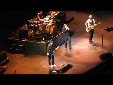 U2 6/25/17: 12 - Trip Through Your Wires - Foxborough, MA