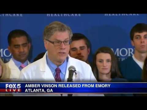 Ebola patient Amber Vinson released from Emory University Hospital