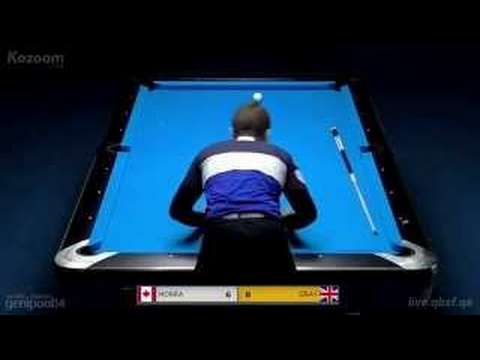 John Morra vs Mark Gray Ending | Last 32 2015 World 9-ball Pool Championship