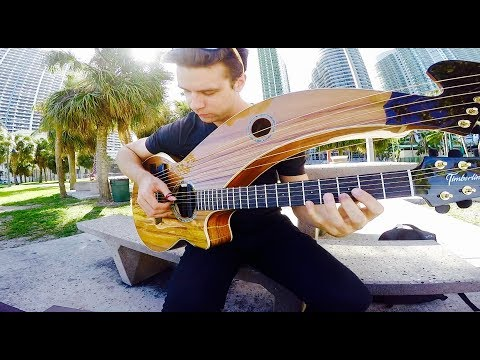 Come Together - The Beatles - Harp Guitar Cover - Jamie