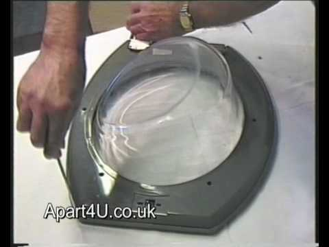 How To Replace Door Parts On A Hotpoint Washing Machine