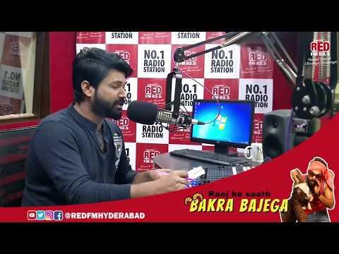 RAJ BAKRA | RJ Raaj Ke Saath Bakra Bajega | Red FM Hyderabad | Redfm | Hyderabad