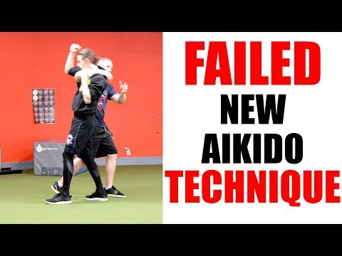 Aikido Fail | Failed New Aikido Technique | Irimi Nage • Aikido Quest