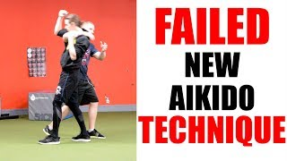 Aikido Fail | Failed New Aikido Technique | Irimi Nage • Aikido Quest