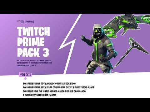 fortnite twitch prime pack 3 pickaxe - Myhiton