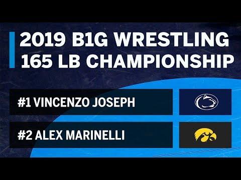 165-lbs:-#1-vincenzo-joseph-(penn-state)-vs.-#2-alex-marinelli-(iowa)-|-2019-wrestling-championship