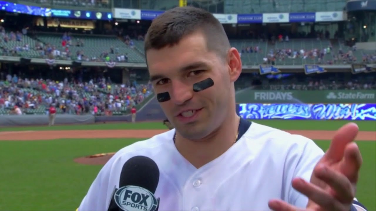 Brewers' Nate Orf: Hits first career homer