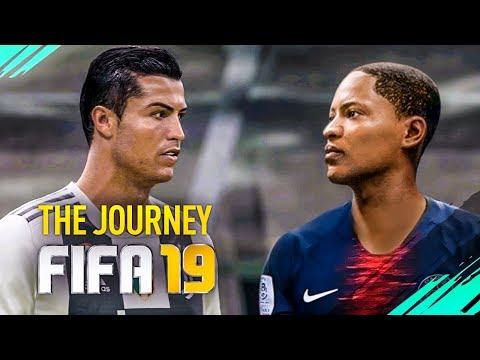 ENFRENTEI O CRISTIANO RONALDO! - FIFA 19 - The Journey #03