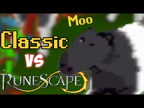 An OSRS/RS3 Player Tries Runescape Classic