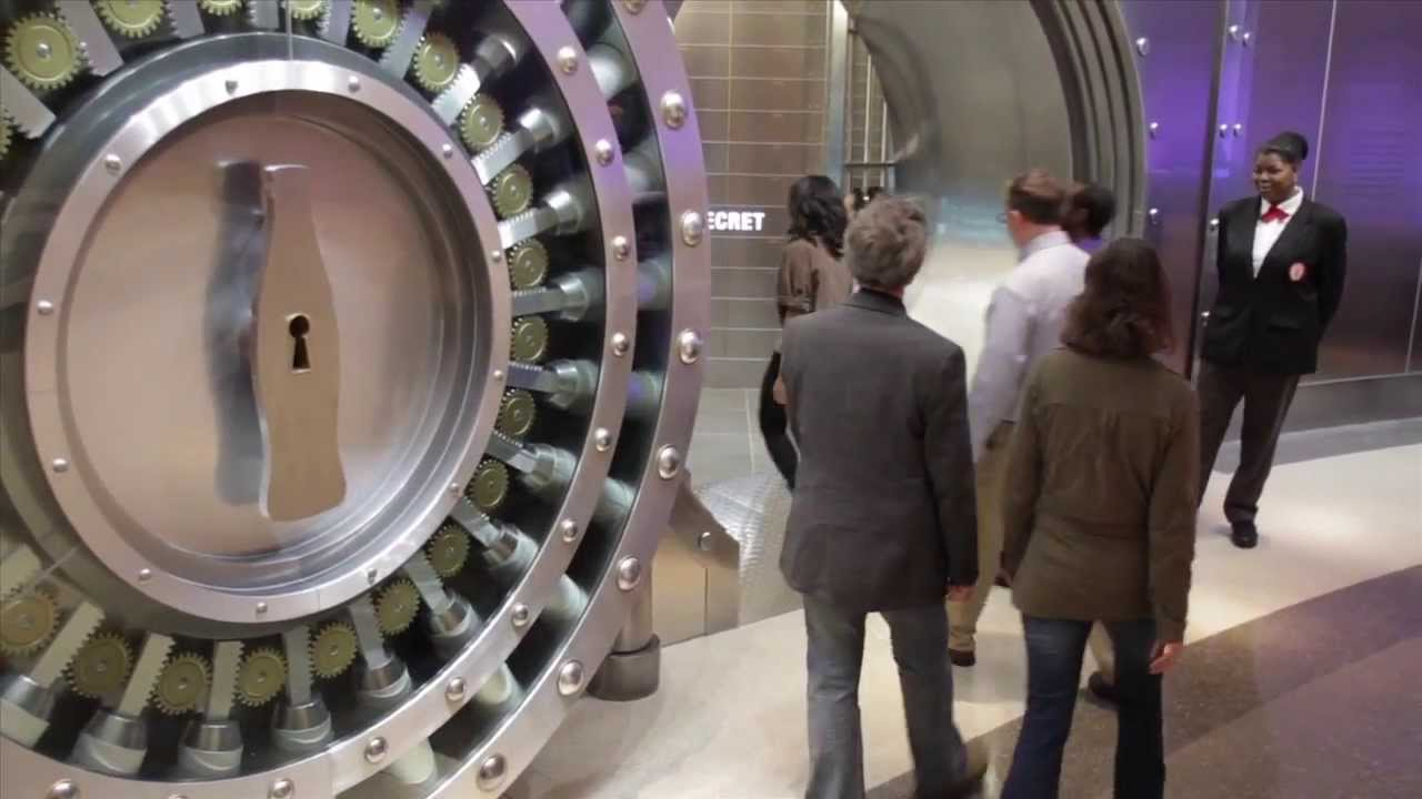 Explore inside the world of coca cola vault of the secret for Vault of secrets