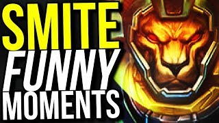 SMITE IS MY FAVORITE GAME EVER I LOVE IT SO MUCH... (Smite Funny Moments)