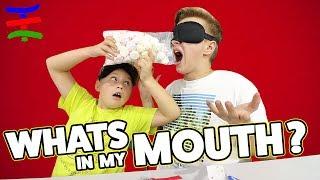 Damit hätten wir nicht gerechnet 😅 What's In My Mouth CHALLENGE 😁 TipTapTube Family 👨👩👦👦