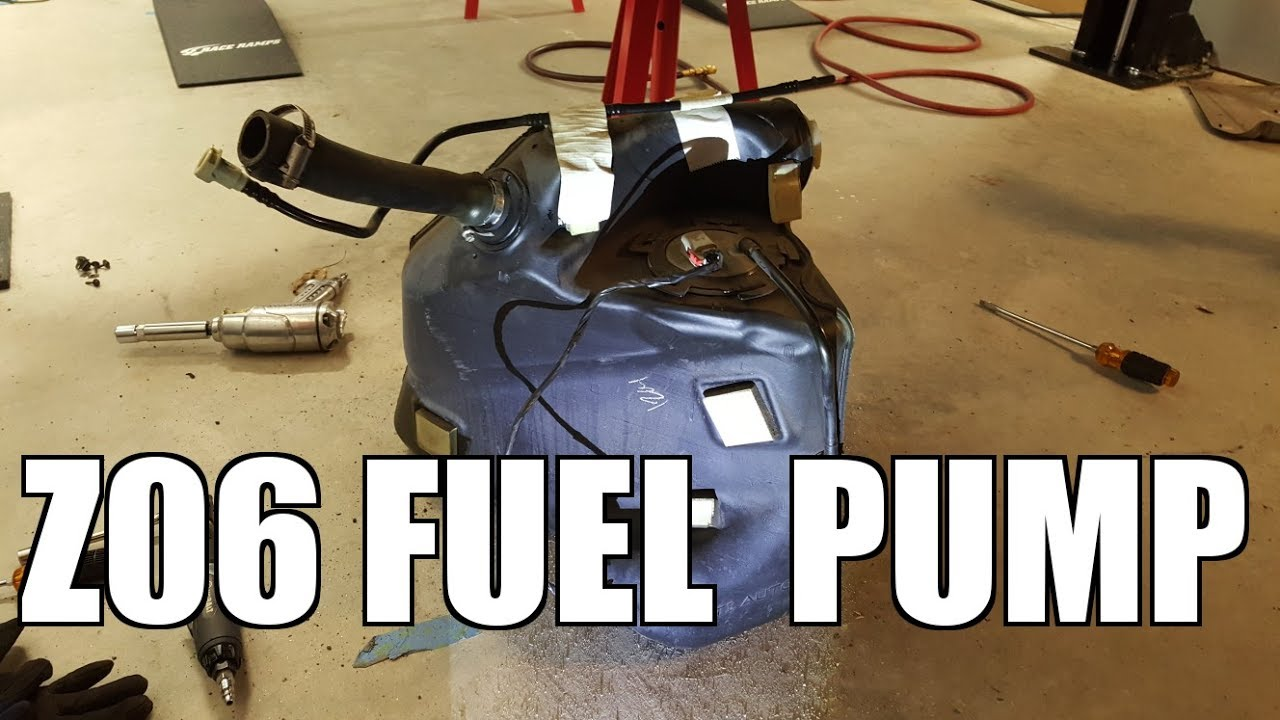 small resolution of 2005 chevy corvette replacing fuel pump
