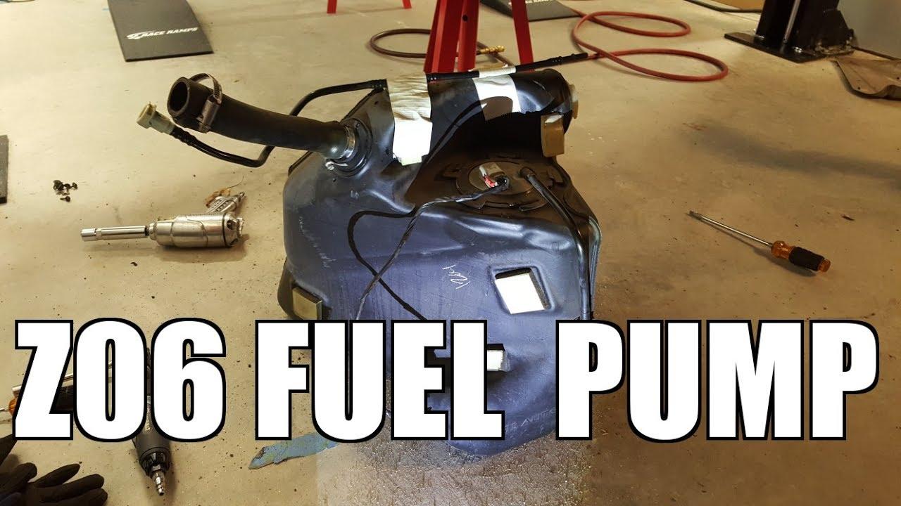 2005 chevy corvette replacing fuel pump [ 1280 x 720 Pixel ]