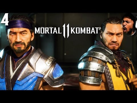 SCORPION AND SUB-ZERO TEAMING UP!? | Mortal Kombat 11 #4