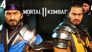 SCORPION AND SUB-ZERO TEAMING UP!? | Mortal Kombat 11 #4