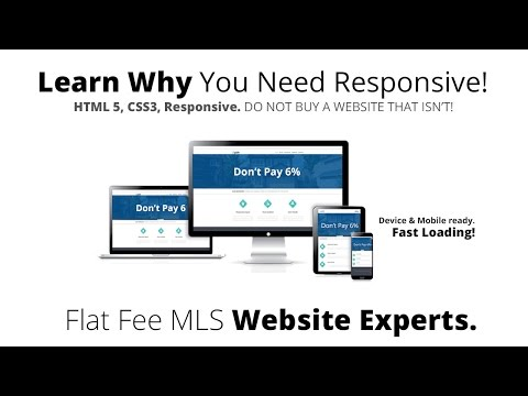 Fsbo Website Design Responsive Flat Fee Mls Websites For By Owner Templates